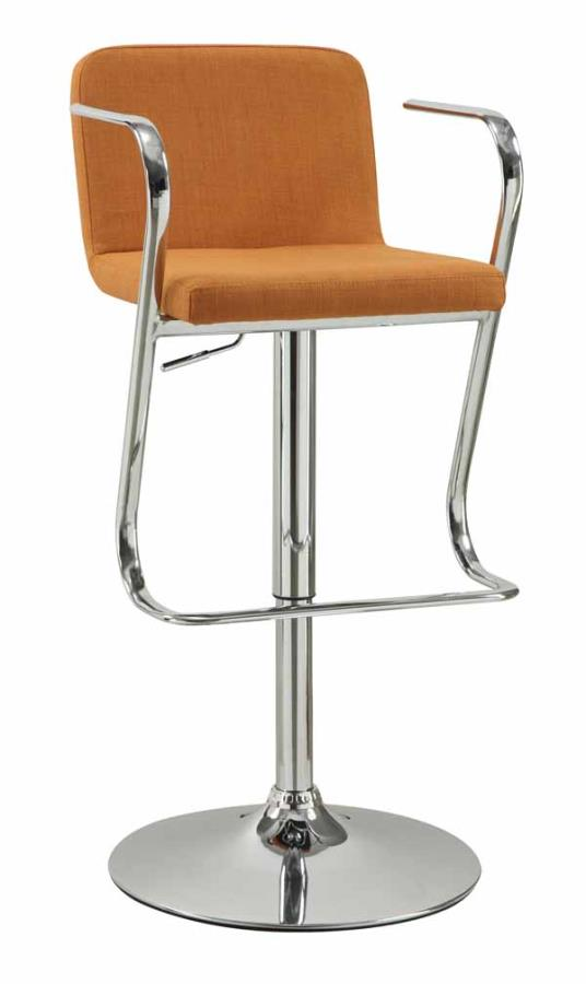Adjustable Bar Stool  sc 1 st  H3 Furniture : red modern bar stools - islam-shia.org