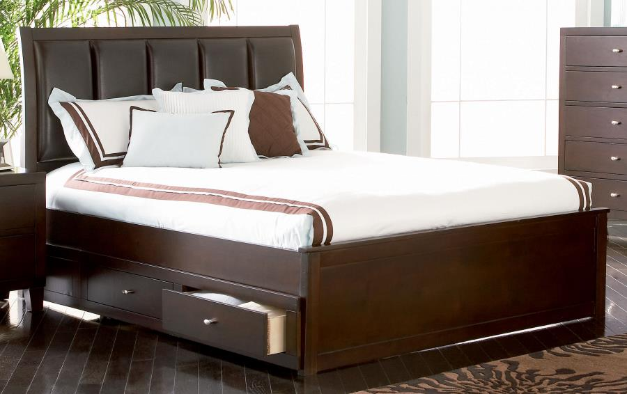 Coaster Eastern King Bed 201511KEB3 — Galleria Furniture